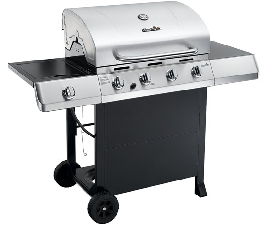 Char-Broil Classic 480 4 Burner Gas BBQ and Side Burner