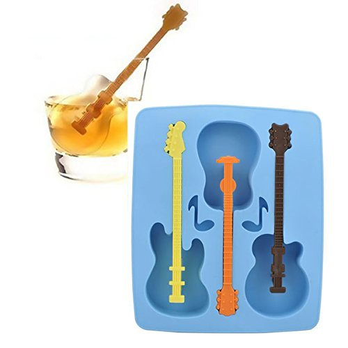 Guitar Silicone Ice Tray