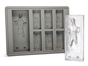 Han Solo In Carbonite Silicon Ice Tray