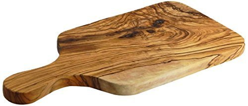 Le Souk Olivique Olive Wood 12 by 6-Inch Rectangular Board