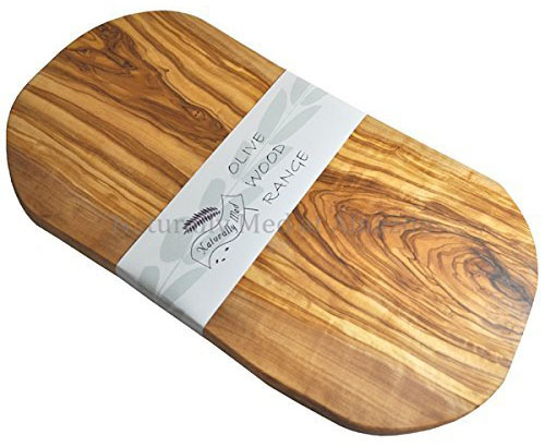 Naturally Med Olive Wood Chopping Board