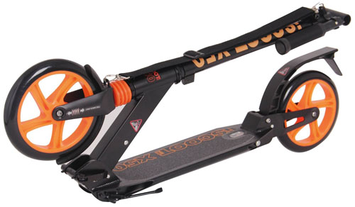Ultimate iScoot X50 Adult Kick Scooter Folded