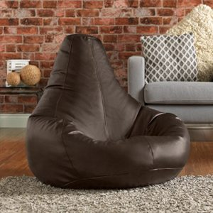 Bean Bag Bazaar Reclineer Faux Leather Brown