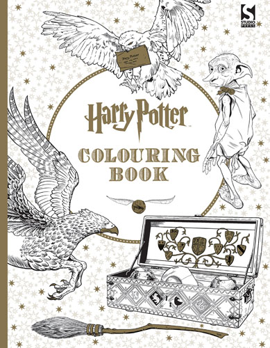 Harry Porter Colouring Book