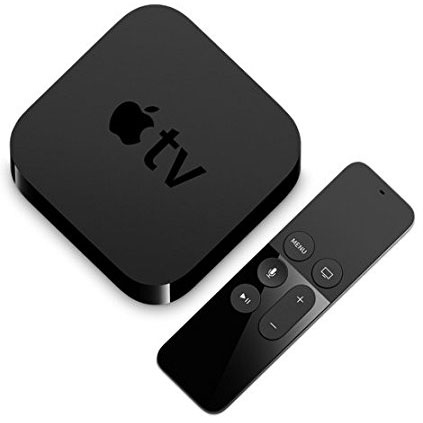 Apple TV4 with remote