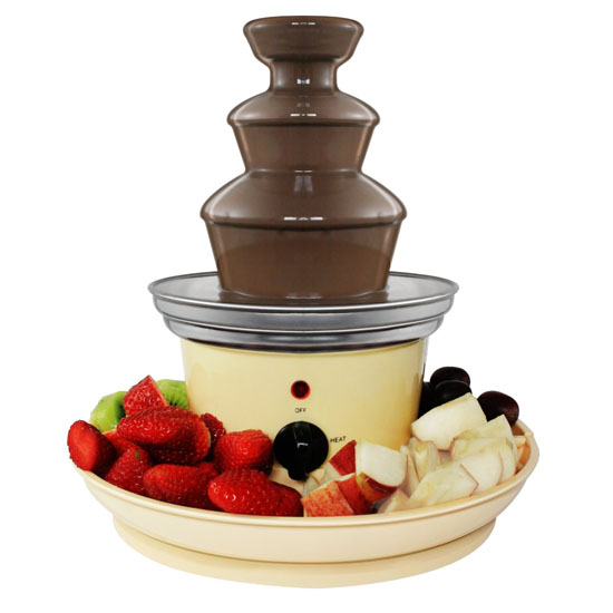 Mini Chocolate Fountain Serving Trays JMPosner