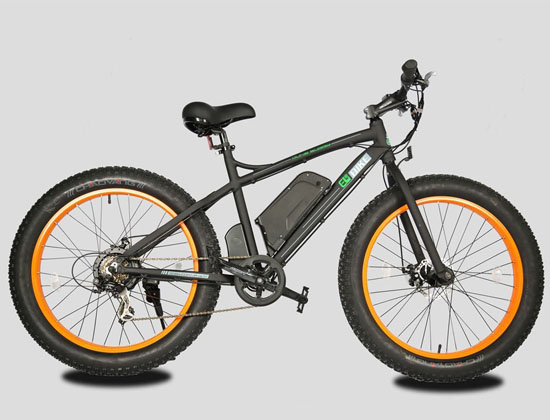 Electric Fat Tire Bike Beach Snow Bicycle