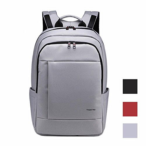 Kopack Business Computer Backpack Anti Theft Waterproof Travel Daypack for 14 inch Grey