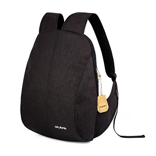 Oflamn Anti-theft Sleek Laptop Backpack Fits Up to 17.3 inch Laptop