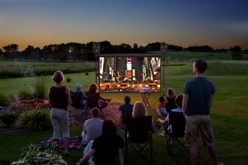 Backyard Theater System 9-foot