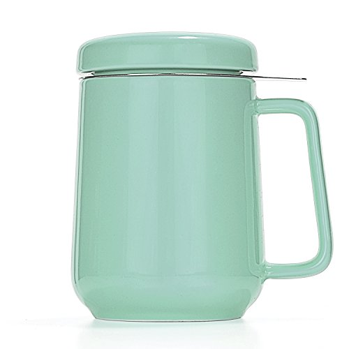 Tealyra  Peak Ceramic Tea Cup Infuser