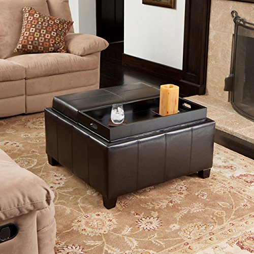 Ottoman Tray Top and Storage