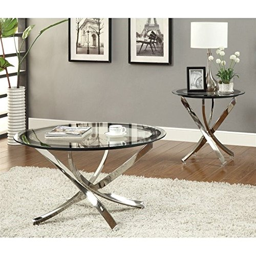 Coaster Home Furnishings 702588 Contemporary Coffee Table