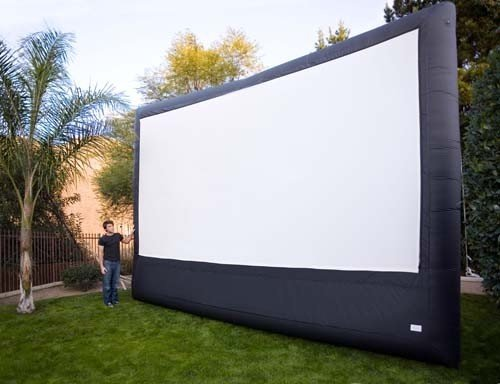 CineBox Home 16 x 9 Backyard Theater Projection System