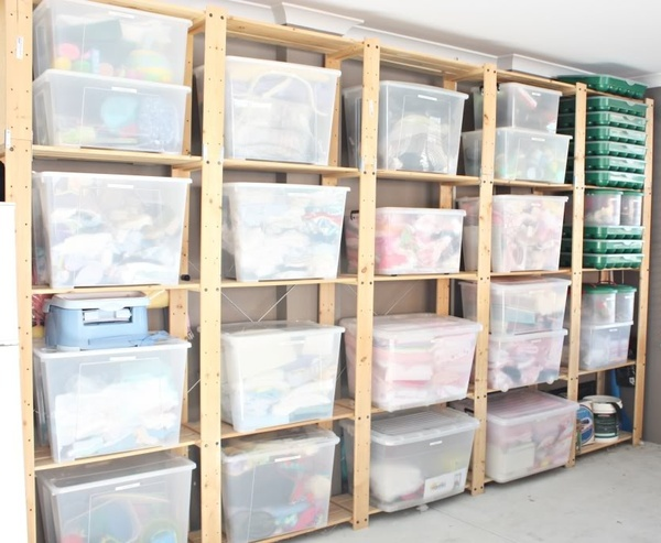 Sorting your clutter into boxes