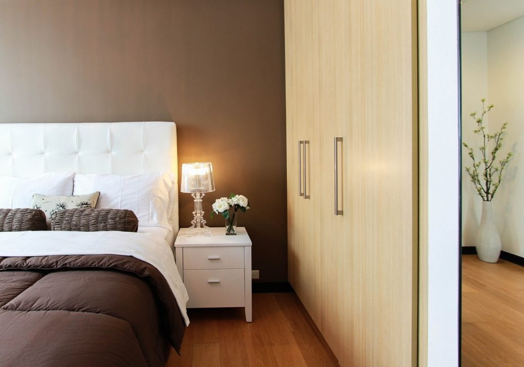 Picture perfect clutter free bedroom
