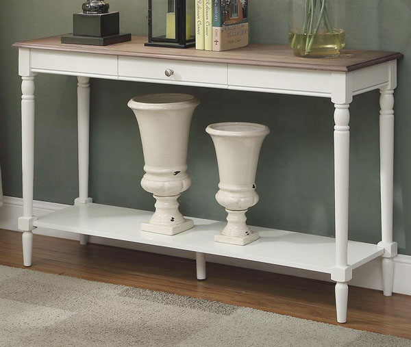 Convenience Concepts French Console Table