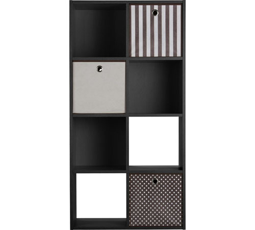 HOME Squares 8 Cube Storage Unit with Drawers
