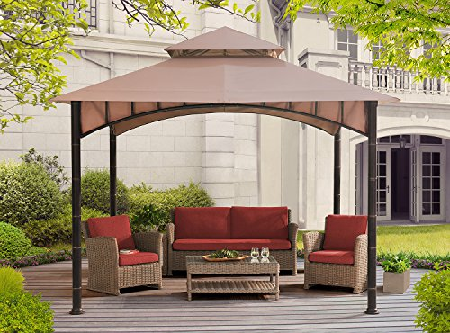 Sunjoy 10 X 10 Summer Breeze Soft Top Gazebo