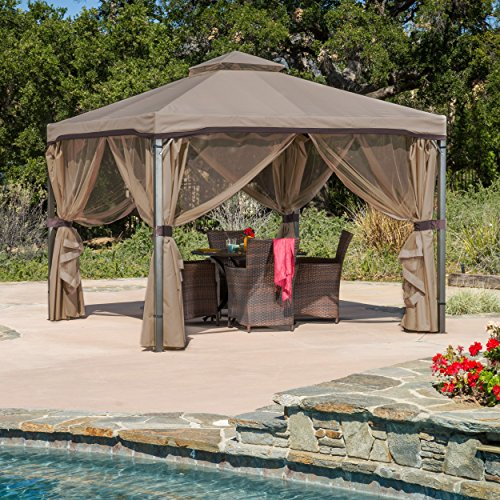 Sonoma Outdoor Iron Gazebo Canopy