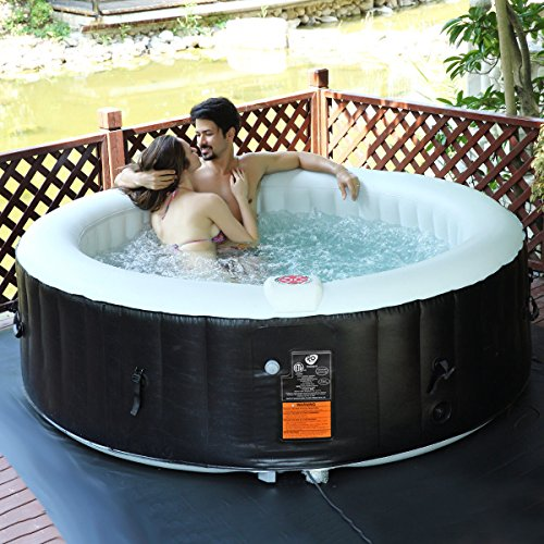 GoPlus 6 Person Portable Inflatable Hot Tub