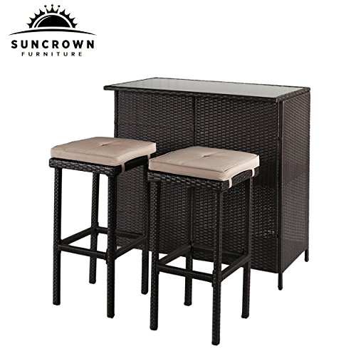 Patio Bar Table Set from Amazon