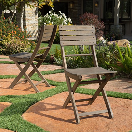 Foldable Wooden Chairs from Amazon