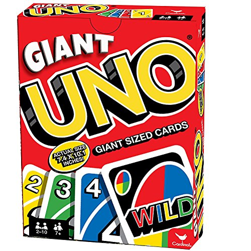 Giant Uno Game Cards