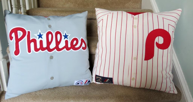Turn old shirts into pillow or cushion cases