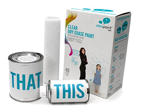 IdeaPaint HOME Clear Dry Erase Paint Kit