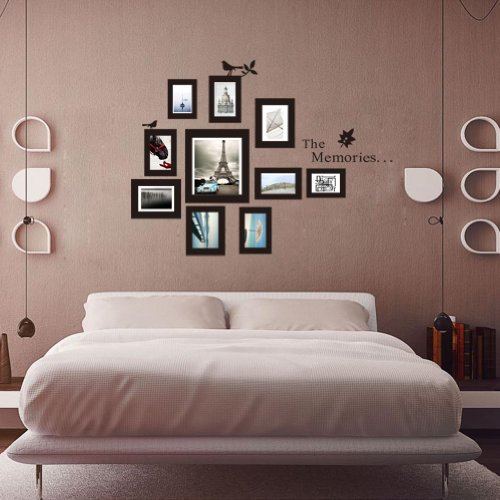 Photo Wall With Decal Frames