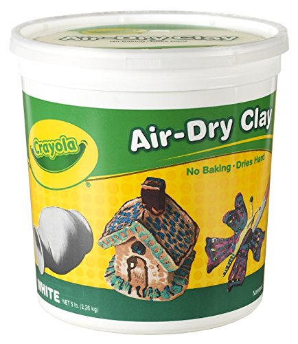 Crayola Air Dry Clay in Resealable Tub