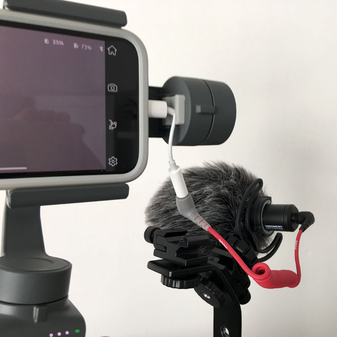 Budget Video Rig Connector Setup