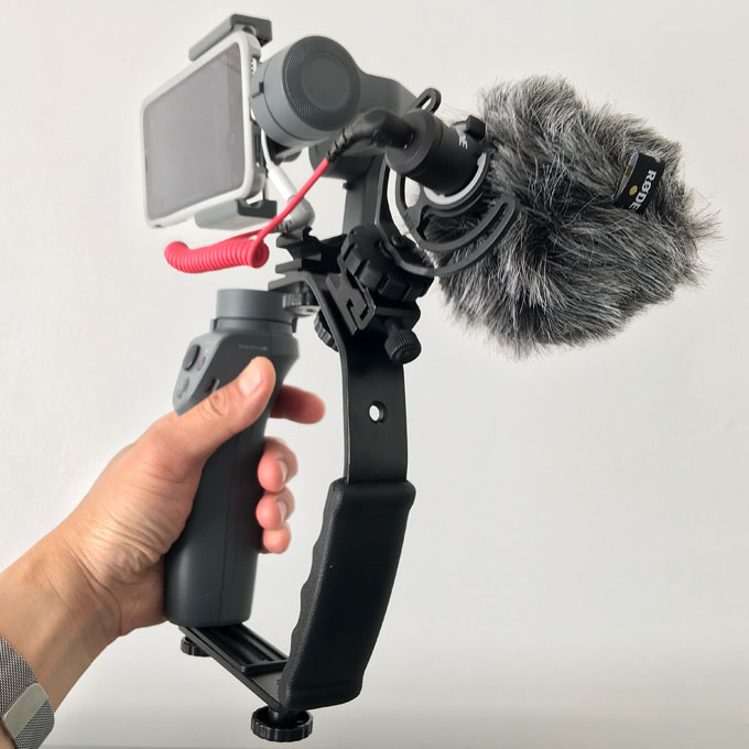 Budget Video Rig Side View