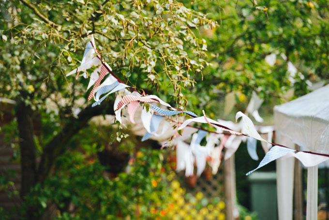 bunting summer party