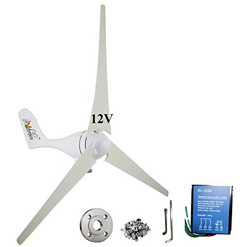 Wind Turbine Generator 3 Blades with Controller