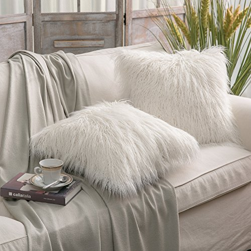 Fluffy Faux Fur Cushion
