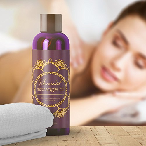 Pure Lavender Massage Oil