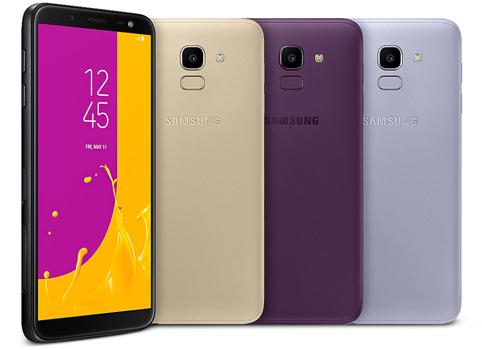 Samsung Galaxy J6 Colours