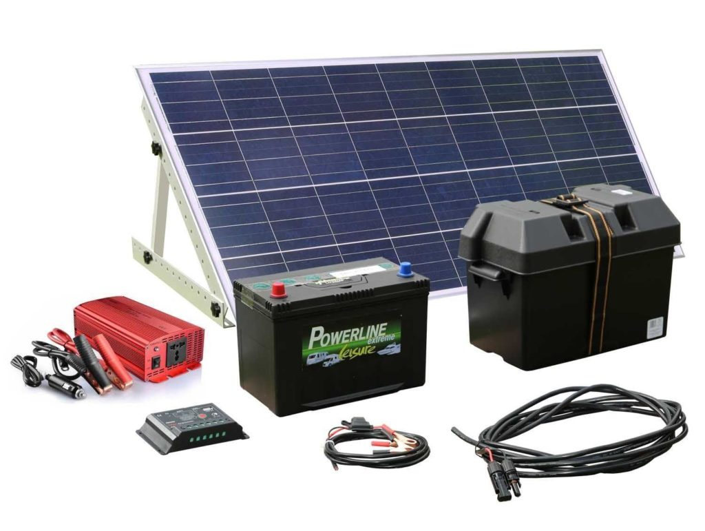 Solar Panel Charger Battery and Regulator s-l1600
