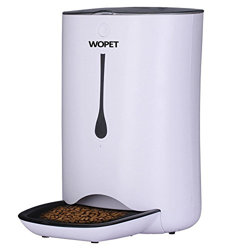 WOpet 7L Automatic Pet Feeder Food Dispenser for Cats and Dogs