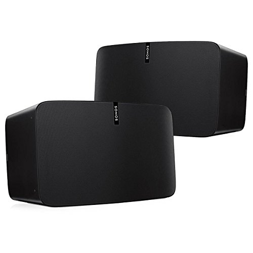 A pair of Sonos Play:5 for Stereo Effect