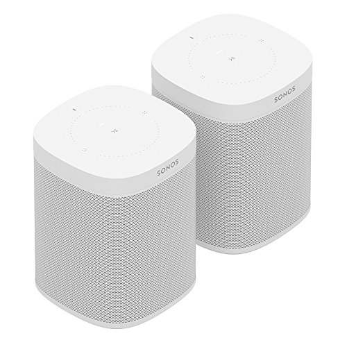 Two Sonos One for Stereo Effect