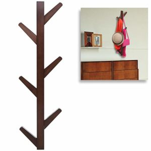 Modern Brown Bamboo Wall Mounted