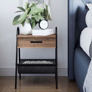 Nathan James 32501 Hugo Nightstand