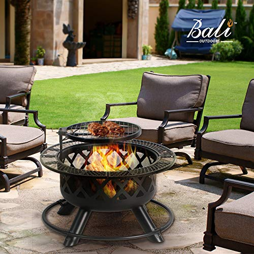 BALI Outdoors Wood Burning Fire Pit