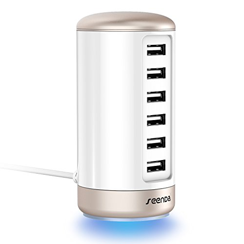 Seenda 6-Port USB Charger