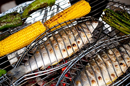 Fish Grill Basket For Whole Fish