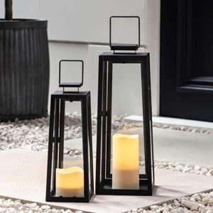 Floor Standing Battery Operated Lanterns