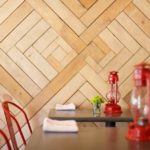Barn Wood Accent Wall For The Dining Area